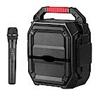 大聲公樂雅型無線式多功能行動音箱/喇叭 (單手持麥克風組)