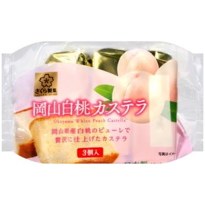 SunLavieen 岡山白桃風味蛋糕(120g)