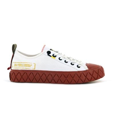 PALLADIUM PALLA ACE SUPPLY LO男女 低筒休閒鞋 白粉-77178116