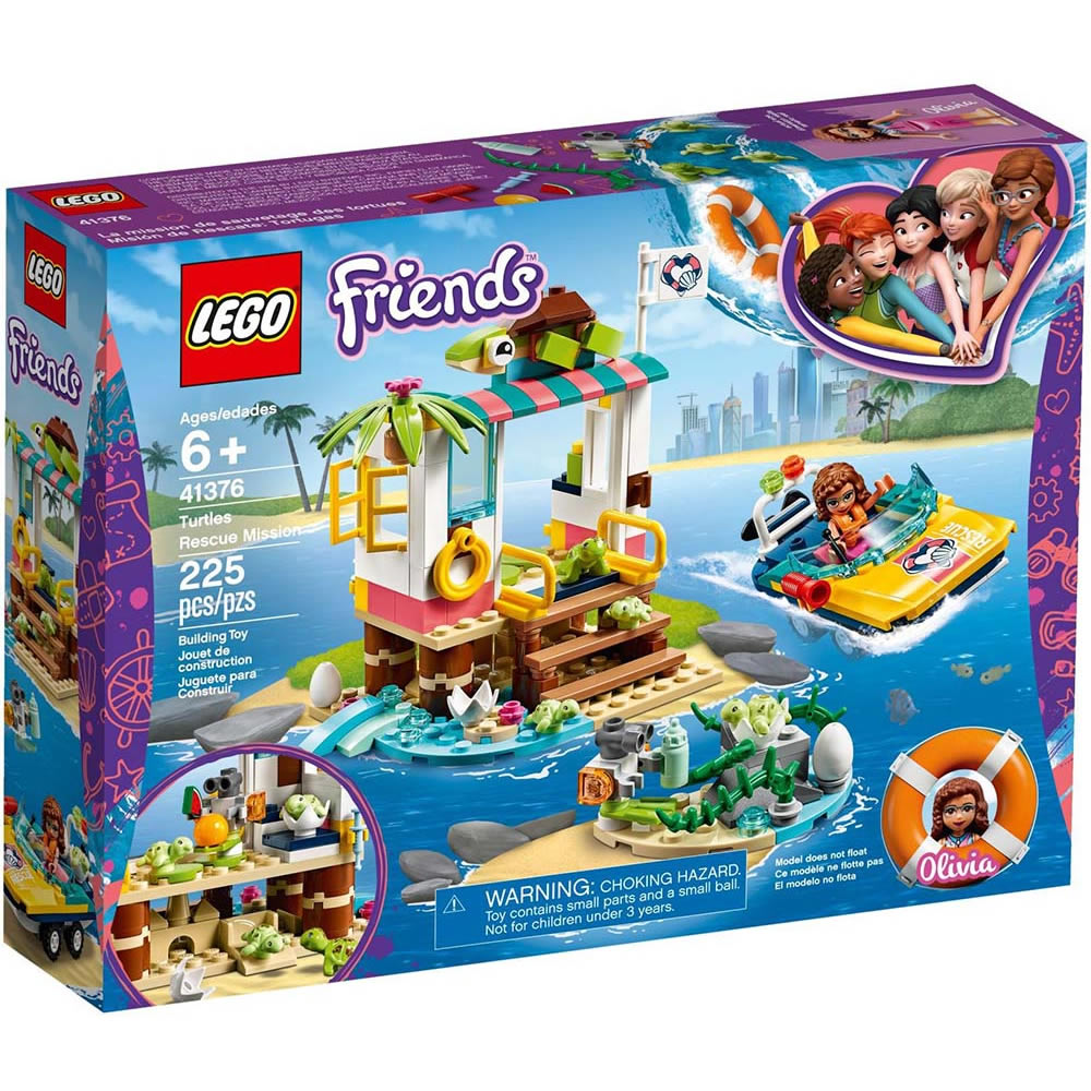 樂高LEGO Friends系列 - LT41376 海龜救援任務
