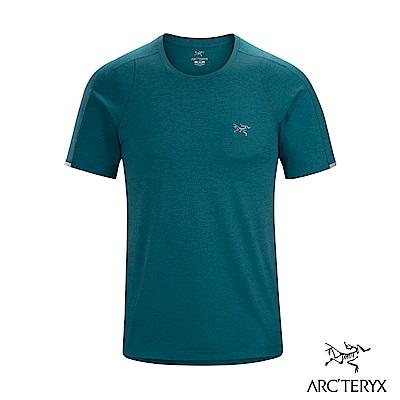 Arcteryx 始祖鳥 男 Cormac 快乾短袖圓領衫 海洋綠