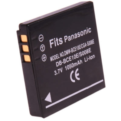 Kamera 鋰電池 for CGA-S008/DMW-BCE10