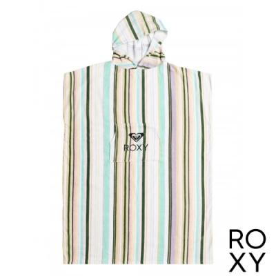 【ROXY】STAY MAGICAL PRINTED 浴巾衣 白色