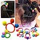 日韓 兒童 甜美繽紛 小球女孩 親子 髮束 髮圈 kiret-大球+小球超值10入 product thumbnail 1