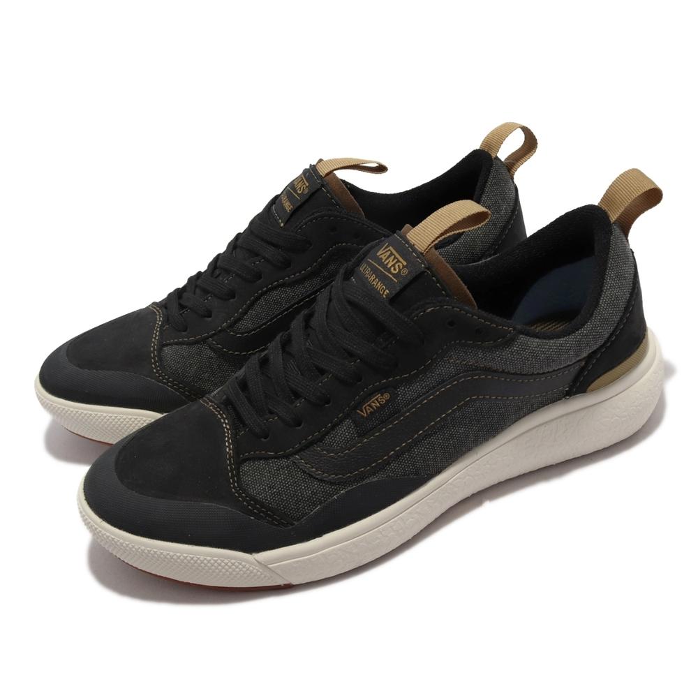 Vans 滑板鞋 Ultrarange Exo Se 男鞋 緩震 彈性 支撐 抓地 耐磨 單寧鞋面 黑 卡其 VN0A4UWM22M