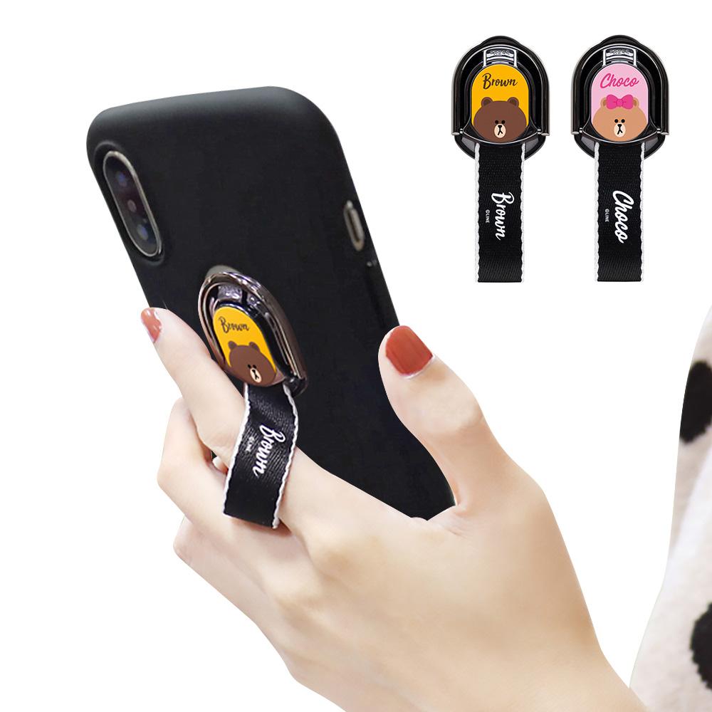 iStyle iPhone XS Max 6.5吋 熊大熊美指環掛繩手機殼