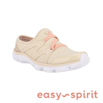Easy Spirit-seRIPTIDE2 透氣彈性布輕量型休閒鞋-米杏色