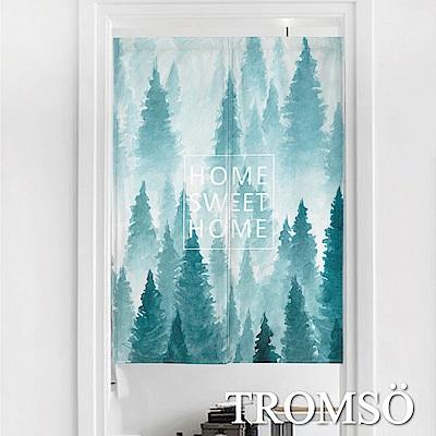 TROMSO厚白棉麻風尚門簾-D10北歐森林