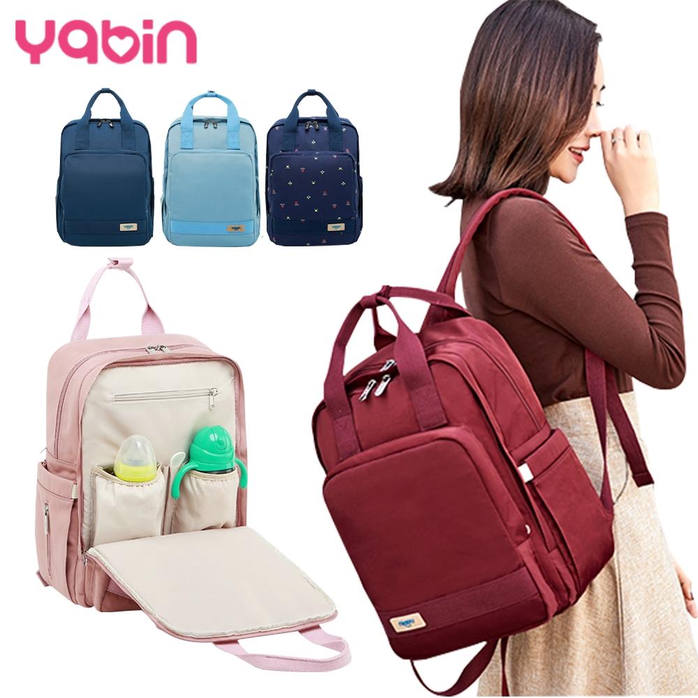 YABIN 後背媽媽包時尚大容量雙肩包