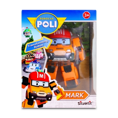 救援小英雄 POLI -  4吋變形馬克