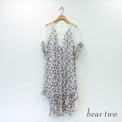 beartwo 春漾雪紡兩件式洋裝(二色)