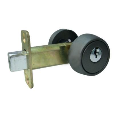 LS-S-5 日規輔助鎖 霧黑色 60mm 輔助鎖 補助鎖 防盜鎖 適用 大門 一般房門