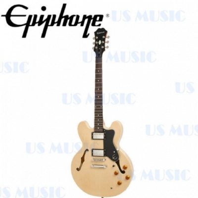 Epiphone DOT ES-335 ES335 STYLE 爵士空心電吉他 原木色