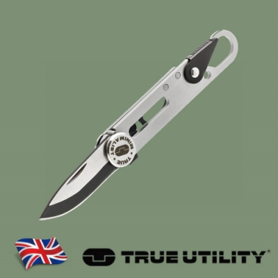 【TRUE UTILITY】英國多功能8合1刀片工具鑰匙圈Minimalist