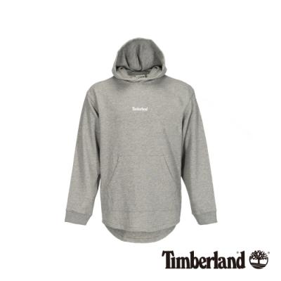 Timberland 男款中麻灰連帽套頭長袖上衣|A1XJR