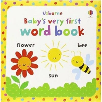 Baby s Very First Word Book 小寶貝的第一本單字小書