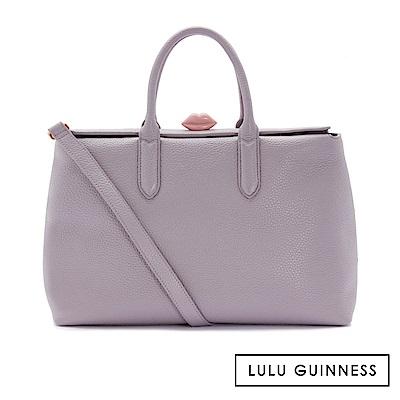 LULU GUINNESS MARILYN 手提/肩背包 (紫)