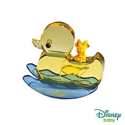 Disney迪士尼系列金飾 小鴨水晶擺件-黃金美妮款