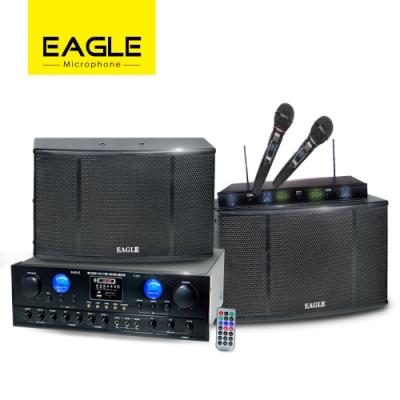 【EAGLE】專業級影音三件組 A-200+ES-K10+EWM-L368U