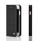 Fierre Shann 牙籤紋 iPhone 6/6s (4.7)插卡手工皮套