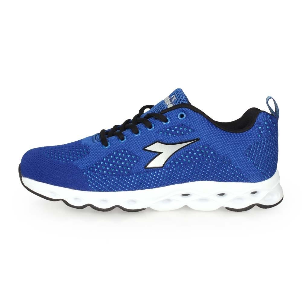 DIADORA 男專業輕量慢跑鞋-寬楦-路跑 慢跑 藍銀