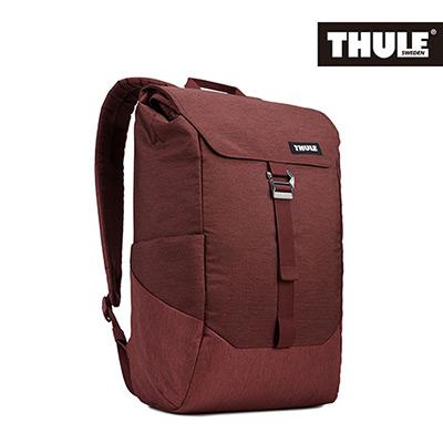 THULE-Lithos 16L筆電後背包TLBP-113-酒紅