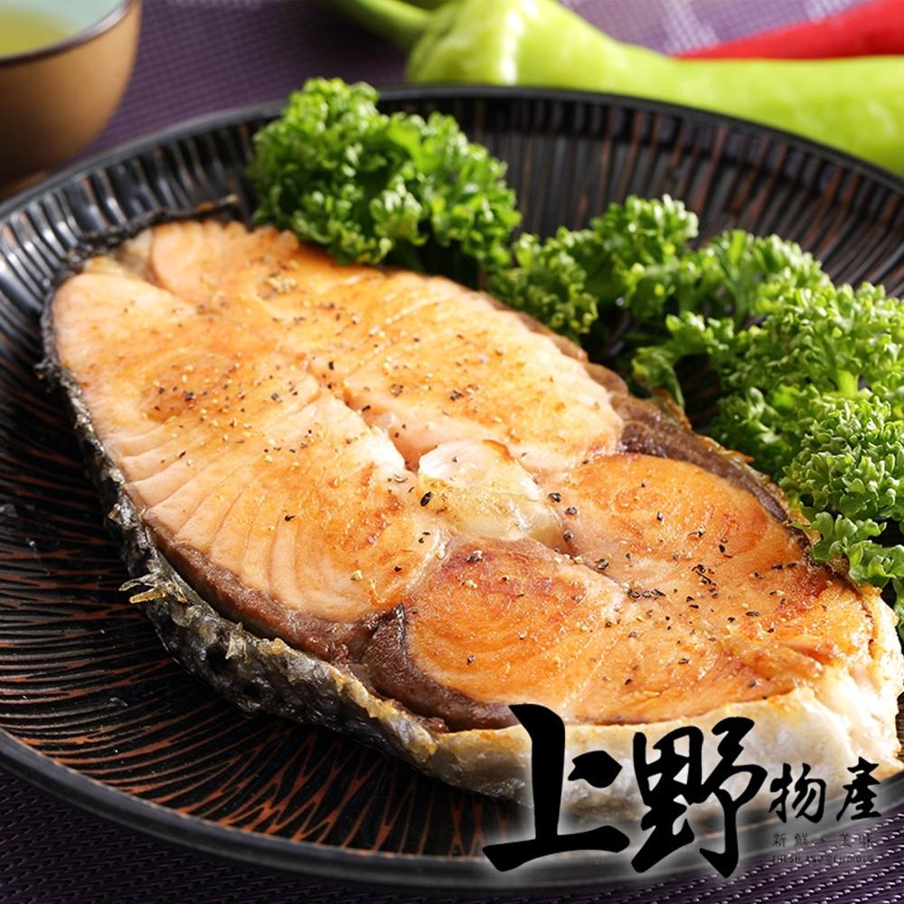 上野物產-智利野生XL鮭魚厚切390g/片*10