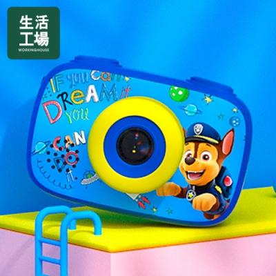 【生活工場】汪汪隊 授權童趣數位相機藍色(阿奇)