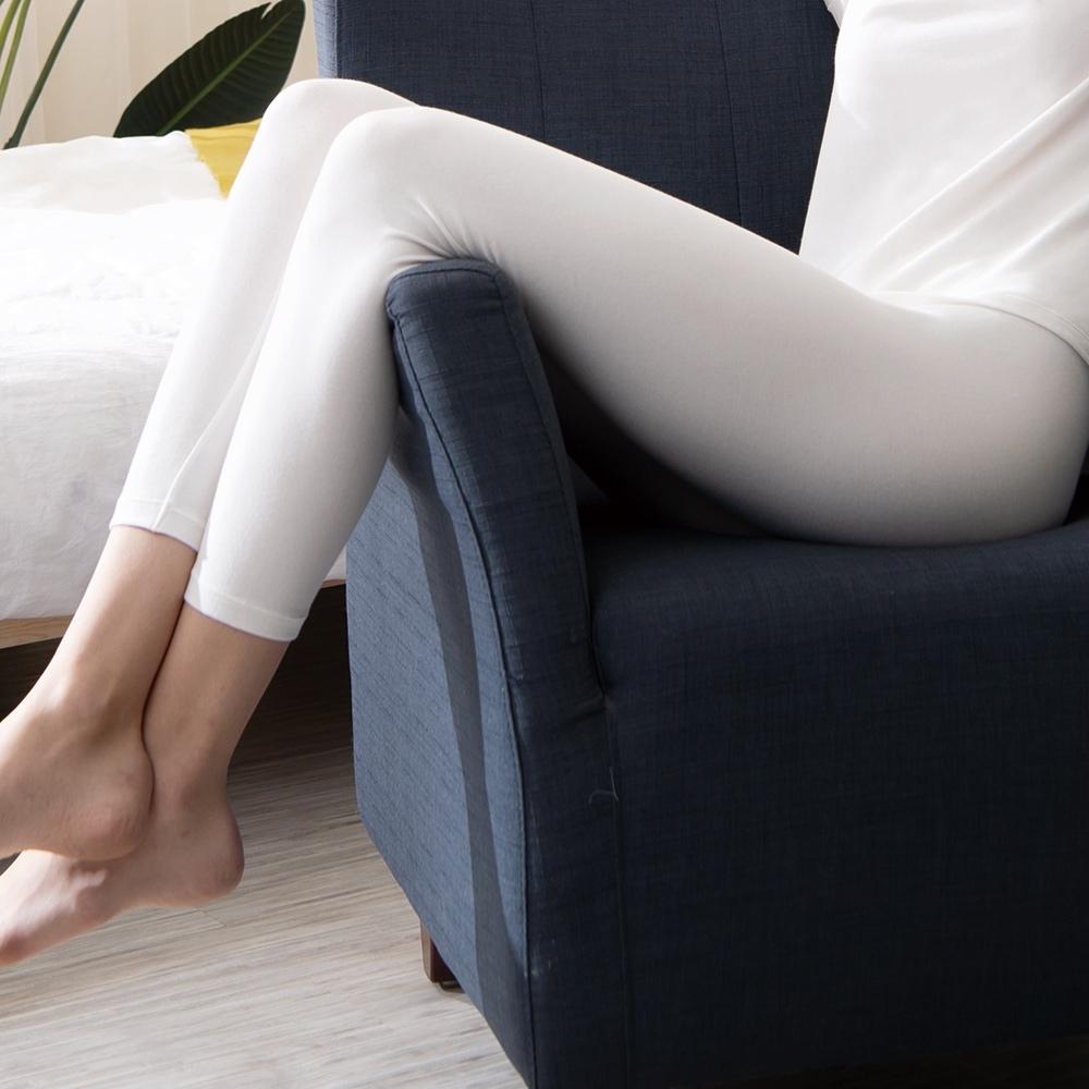 華歌爾-優膚美 M-LL 長褲(白)保暖舒適-UMORFIL超細纖維