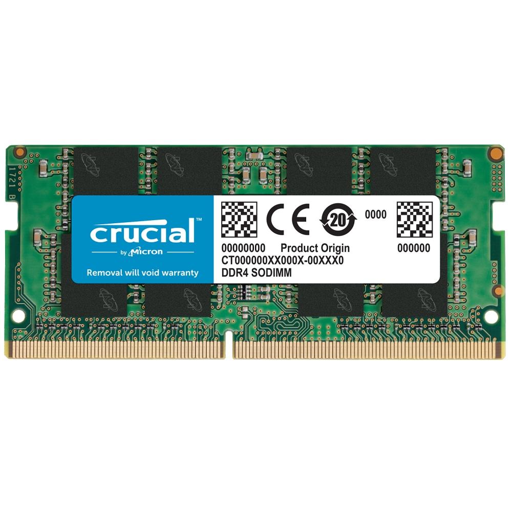 Micron Crucial NB-DDR4 3200/ 8G 筆記型 記憶體 RAM(原生3200)適用第9代CPU以上(CT8G4SFRA32A)