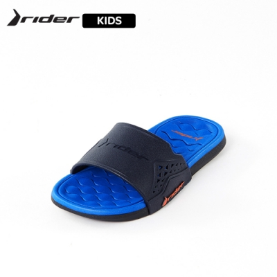 Rider ATHLETIC機能核芯一字拖 童鞋 藍