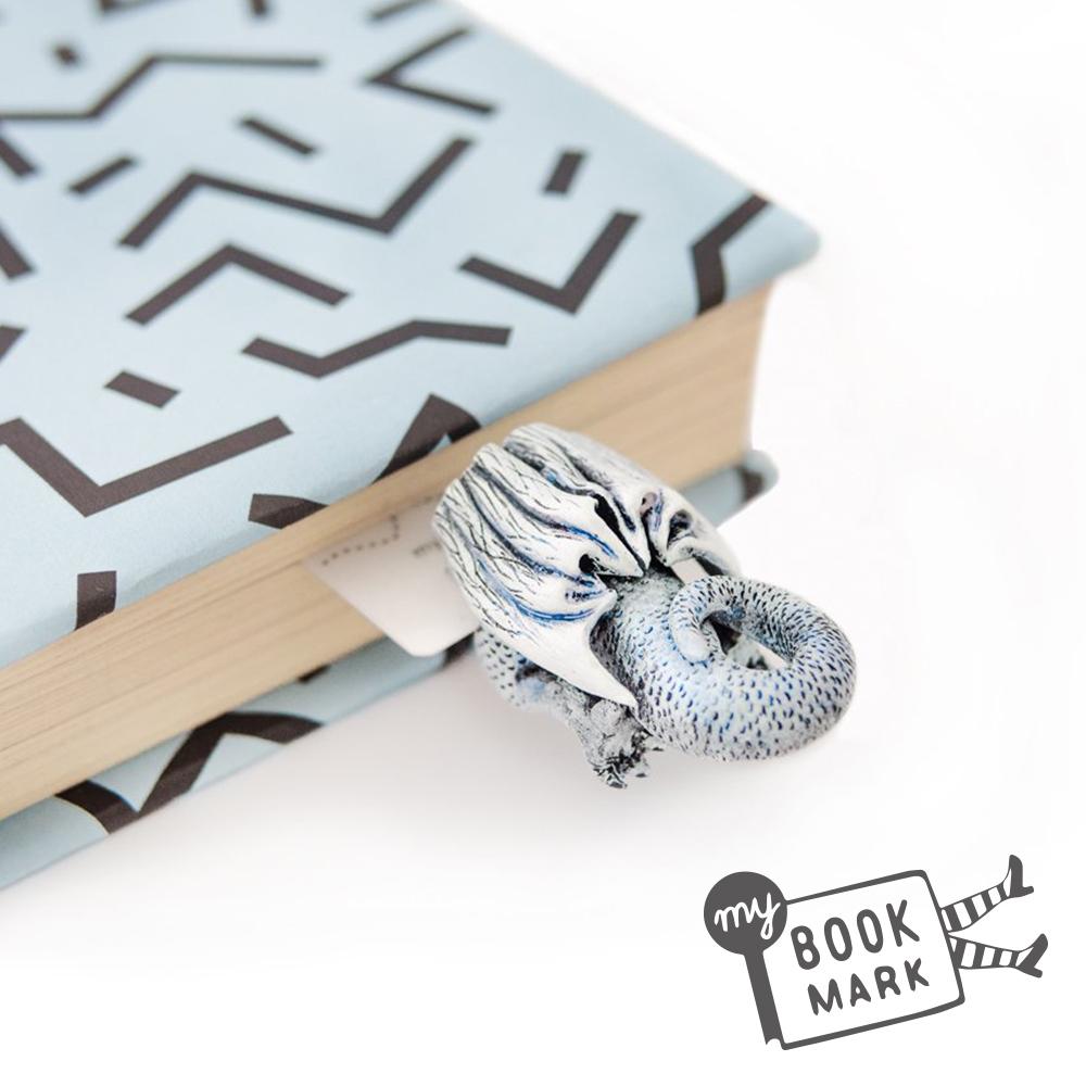 烏克蘭myBookmark-鑽回奇幻故事的銀龍書籤