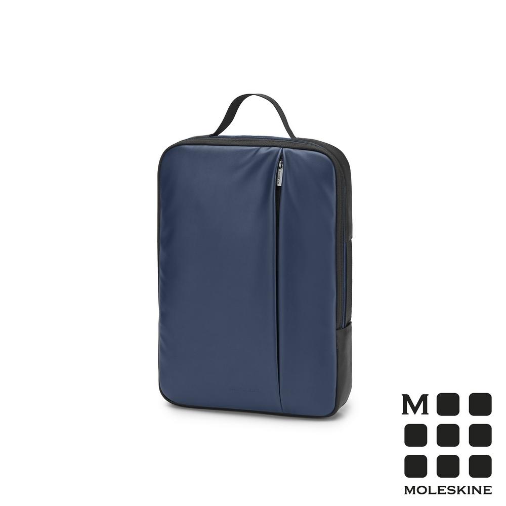MOLESKINE 經典PRO直式電腦包-15吋寶藍