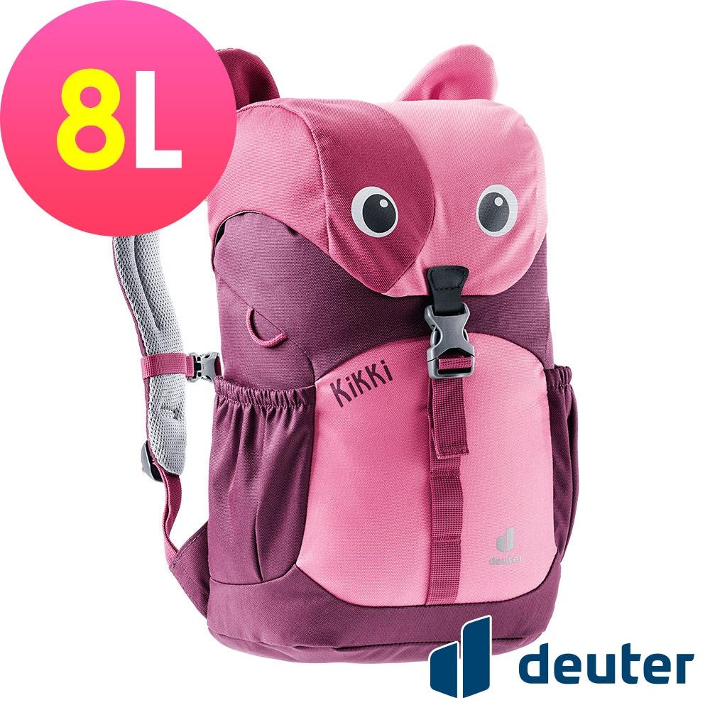 【deuter德國】可愛造型貓咪kikki兒童背包8L/書包/旅遊包3610421紅/暗紅