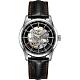 Hamilton AMERICAN CLASSIC鐵路系列鏤空機械腕錶-黑/42mm product thumbnail 1