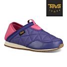 TEVA 中/大童 Ember Moc 菠蘿麵包鞋-紫