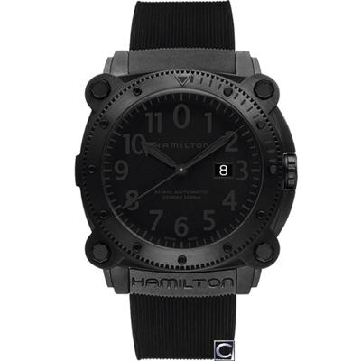 HAMILTON Khaki 蛙人潛水機械錶(H78585333)