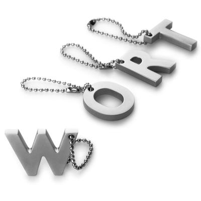 PHILIPPI》My Letter字母鑰匙圈(U)