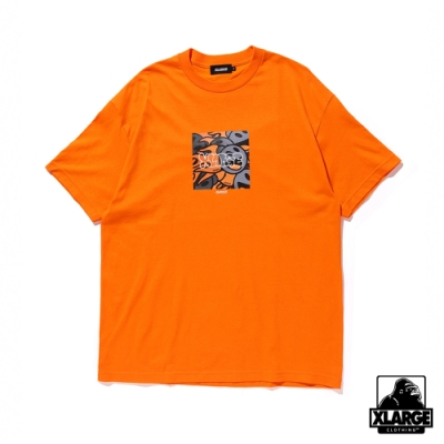 XLARGE S/S TEE SAM by PEN BOMB聯名款短T-橘