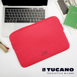 TUCANO MELANGE2 簡約風防震機能內袋13吋 紅
