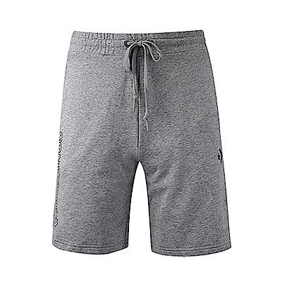 CONVERSE-男休閒短褲10007237-A02-灰