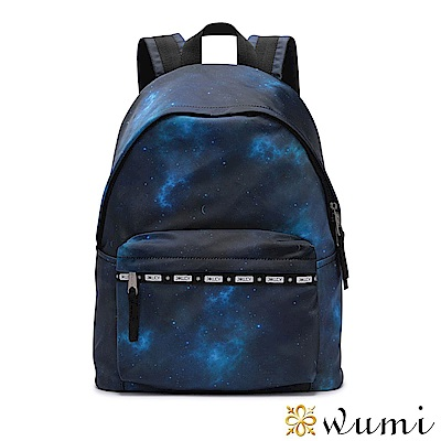 WuMi 無米 輕潮流系列後背包-神秘宇宙 藍