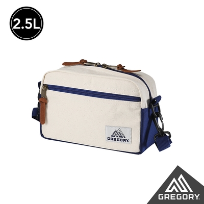 Gregory 2.5L PAD SHLD POUCH CANV斜背包 本白