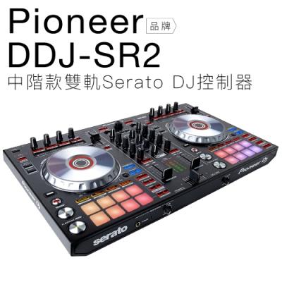 Pioneer DDJ-SR2 Serato DJ 雙軌控制器 【邏思保固一年】