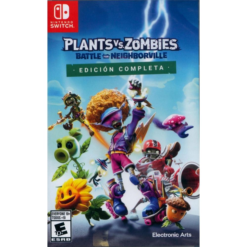 植物大戰殭屍:和睦小鎮保衛戰 完整版 Plants vs. Zombies: Battle for Neighborville Complete Edition - NS Switch 中英日文美版
