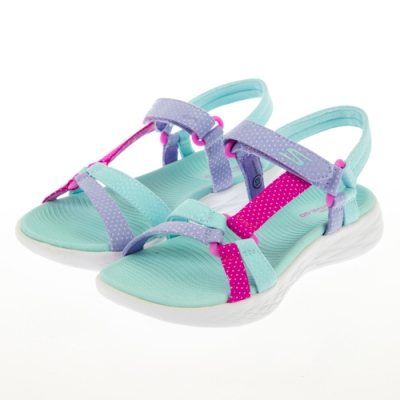 SKECHERS 女童系列 涼拖鞋 ON THE GO 600 - 302117LAQUA