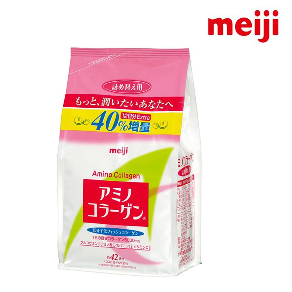 明治  膠原蛋白粉-補充包42天份(300g/包)