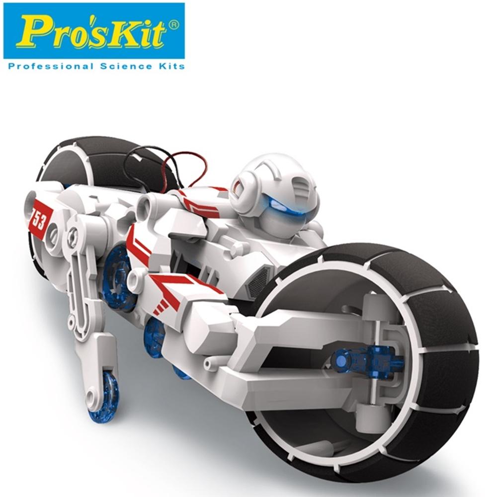 台灣製造Proskit寶工科學玩具 鹽水燃料電池動力巡戈車GE-753