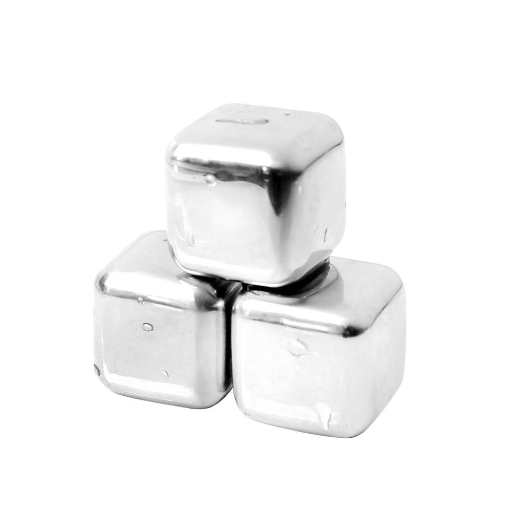 [時時樂限定]AURA 艾樂 304不鏽鋼環保冰塊8入組加附專用夾&收納盒