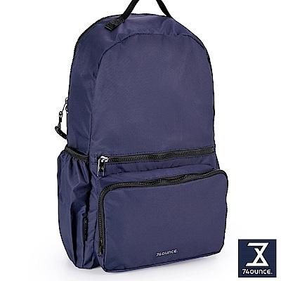 74盎司 Further 旅行後背包[TG-227]藍